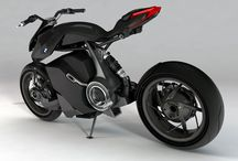Motorcycle - Concept & Prototypes