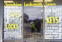Sunshine Locksmith Team Store / Pictures taken of our store.