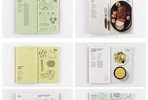 COOKBOOK INSPIRATION / Inspiration for my work with cookbooks for a school project.