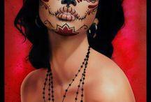 La Muerte....Sugar Skull