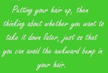 straight hair problems