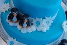 Winter Cakes / Fantásticos cakes con temática de invierno y frío. ¡Dulce invierno!