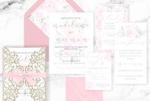 A Pink Sunset : Wedding Stationery + Invitations : The SHOP