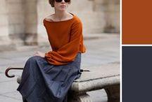 秋色 ファッション