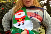 Ugly christmas sweaters / by Beth Whetstone