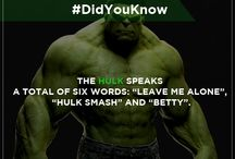 Things You Didn't Know about Avengers / Interesting #AvengerFacts for those who can't get enough of the mighty Avengers.
