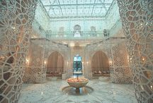 """Favorite Spa Overseas 2017 / Did you know that the Condé Nast Traveler awarded the """"2017 Favorite Overseas Hotel Spa"""" to the Royal Mansour hotel in Marrakech? Besides their mesmerizing architecture, Moroccan spas are known for offering ancient Hammam rituals that have been used for centuries by women to enhance their beauty.   #RoyalMansour#CondeNastTraveller#Award#Spa#Moroccan#BeautySecrets#NewCollection#BeautyCare#MoroccanPrestige"""