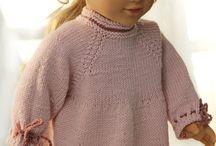sweterki dla lalek