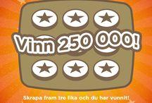 Lotter & Skraplotter / Vi på Miljonlotteriet har lotter och skraplotter för alla smaker och med fantastiska drömvinster. Du kan köpa lotter online eller i butik och stöd samtidigt IOGT-NTOs ideella verksamhet.