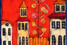 Kerk dorp