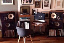 Vinyl/CD cabinet