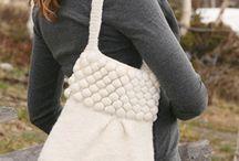 Kabelky / Háčkované a pletené kabelky