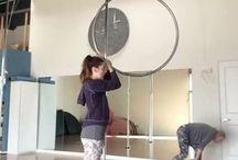Aerial hoop ( to try )