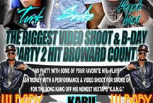The Biggest Video Shoot & B-Day Bash in Broward County