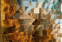 Расписные Деревянные Стены
