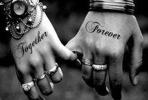 Scott and jackies tattoos / Couples tattoos