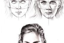 Draw faces