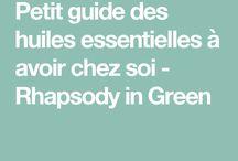 Guide huiles essentiel