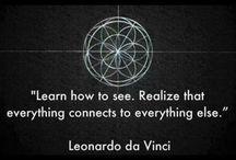 Art...Leonardo da Vinci / Amazing and never-endingly fascinating polyglot.
