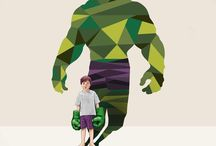 Super Shadows, illustration by Jason Ratliff. / Super Shadows, illustration by Jason Ratliff.  -----------------------------------------------------------------------------  SULEMAN.RECORD.ARTGALLERY: https://www.facebook.com/media/set/?set=a.412573468952678.1073742263.286950091515017&type=3  Technology Integration In Education: