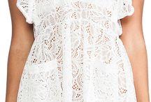 Beyaz Tanyel elbise