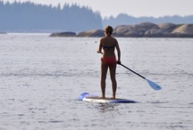 Stand up paddle boarding Greece