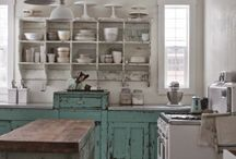 My Rustic, with a hint of Industrial and a dash of Eclectic home style wants