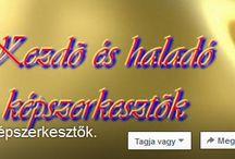 """Képszerkesztés + Honlapom / A Honlapom itt találod: http://misitata.gportal.hu/ A """" Facebook -on a """"Kezdő és haladó képszerekesztők""""."""