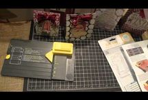 GIFT BAG PUNCH BOARD VIDEOS