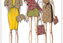 fashion illustrazioni moda