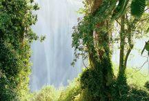 Air Terjun di Pyrenees