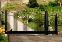 Kraze Legz Winery @ SKAHA Vineyard / Winery in Kaleden, Okangan Valley British Columbia