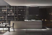 MH6 - Kitchen / Il progetto nasce dalla volontà di creare un ambiente cucina dal design minimal, accogliente ed estremamente funzionale: ogni cosa al suo posto, tutto nel rigore geometrico più assoluto.