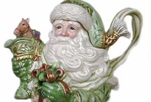 Teapots, Santa
