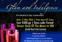 Mother's Day Celebration  / For the ladies, invite your girlfriends, aunts, moms  We ladies never get to treat ourselves enough.  Dads, you are invited to get a ticket for the mother of your beautiful kids, make her night special :)