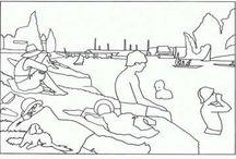 альбом на море рисунки