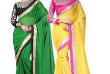 Combo Sarees! / Best collection of combo sarees  Shop now- http://bit.ly/1U6jL1t