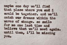 someday I'll see you again