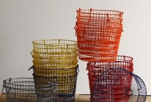 trays, bowls, baskets, furniture