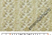 Points de tricots dentelle