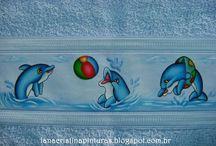 pintura golfinho