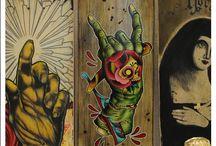 Skateboards / Skateboards design and artwork