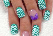 Finger nail art