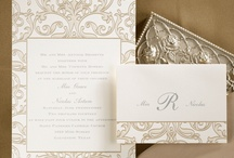 Gold Wedding Ideas / Gold Wedding Ideas and Gold Wedding Invitations