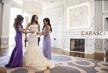 Colorful Church Ceremony + Purple Ballroom Reception in Chicago / Fairy-tale wedding highlighted with amethyst uplighting, lush decor and classic wedding details. | All photos by Carasco Photography | Published in Inside Weddings Magazine.  Consulting: Michelle Durpetti Events Floral and Event Design: Kehoe Designs  Italian Wedding | Vera Wang | Luxury Wedding  | http://www.carascophoto.com | http://www.carascophoto.com/weddings