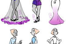 Crystal Gems Dress-Up