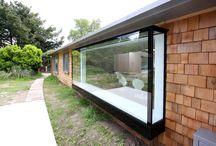 3D glass box window