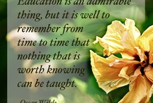 Inspirational Quotes / A place to find inspirational quotes about education, learning, goal-setting, achievement, personal growth, and more!