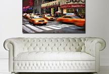 Canvas Art Shop Cities / City canvas prints by The Canvas Art Shop. Affordable city wall art.