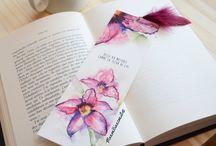 marque page fleurs de lys